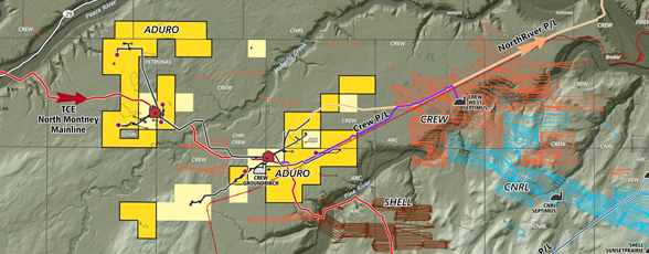 Aduro Montney & Groundbirch Industry Activity