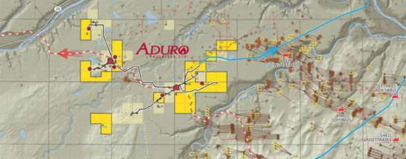 Aduro Montney Existing Production Base